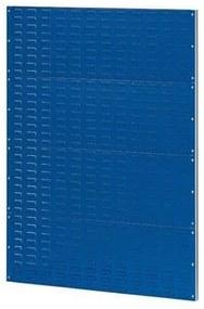 Fali polcrendszer PERFO, méret: 138 x 100 cm, kék
