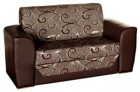 Salsa ii ágyazható, karfás  kanapé, 150 × 95 cm ka087_2 (barna - barna)
