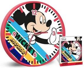 Disney Mickey egér falióra színes
