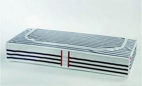 Stripes ágy alatti ruhatároló doboz - Compactor