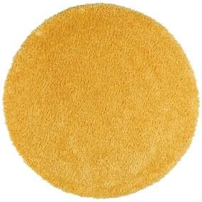 Aqua Liso sárga szőnyeg, ø 80 cm - Universal