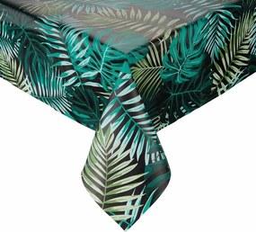 WATERPROOF lemosható asztalterítő, Dark Jungle 130x160 cm