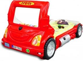 Gyerekágy Inlea4Fun Kamion  - Piros