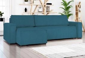 Smart kinyitható univerzális kanapé, türkiz