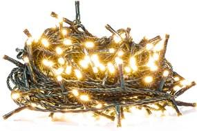 Retlux RXL 211 karácsonyi fényfüzér 200 LED 20+5m, meleg fehér