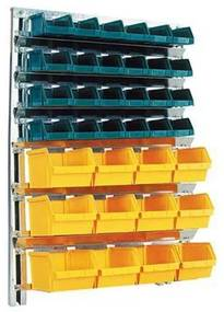Fali állvány Unibox dobozokkal (36 db)