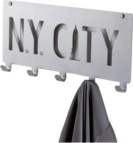 NY City szürke falifogas 5 horoggal - Compactor