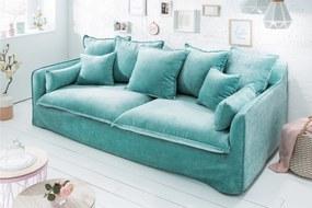 HEAVEN 3 személyes kék kanapé