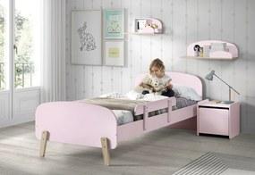 VIPACK FURNITURE Kiddy rózsaszín 200x90 cm
