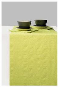 Elegance light green asztali futó