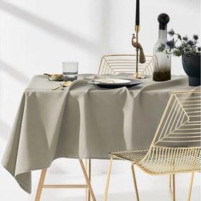Minőségi bézs színű terítő az asztalon 130 x 180 cm 130X180