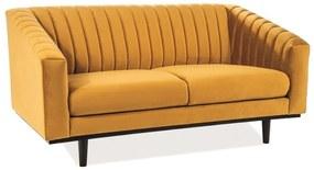DAVE Velvet 2 kárpitozott kanapé, 150x78x85, bluvel 68