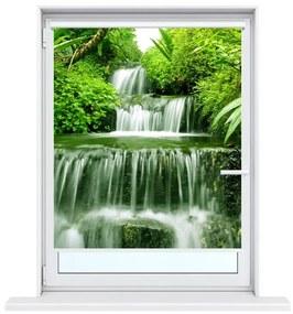 Nyomatos roletta Vízesés az esőerdőben