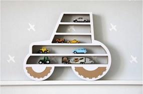 Traktor formájú polc - Unlimited Design for kids