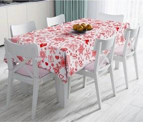 Gifts karácsonyi pamutkeverék asztalterítő, 140 x 180 cm - Minimalist Cushion Covers