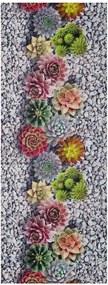 Sprinty Flowers szőnyeg, 52 x 100 cm - Universal