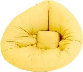 Mini Nido Yellow kinyitható gyerekfotel - Karup Design