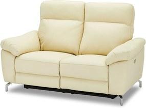 Stílusos 2-személyes kanapé Abeeku - krémszínű