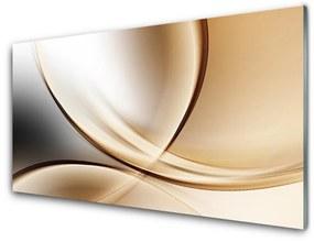 Fali üvegkép modern absztrakció 100x50 cm