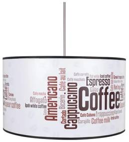 Lampdar Csillár COFFEE 1xE27/60W/230V SA0250