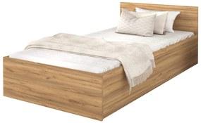 GL DOLLY egyszemélyes ágy - craft tölgy Méret: 200x90