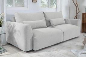 HAMPTON modern kanapé - 240cm - világosszürke