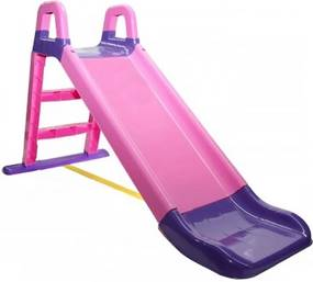 Gyerek csúszda Happy 140 cm - lila-rózsaszín M and P slide