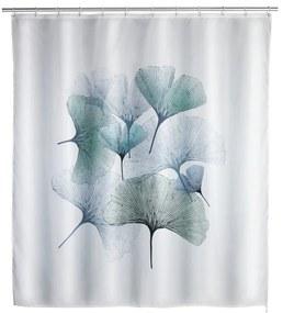 Ginkgo mosható zuhanyfüggöny, 180 x 200 cm - Wenko