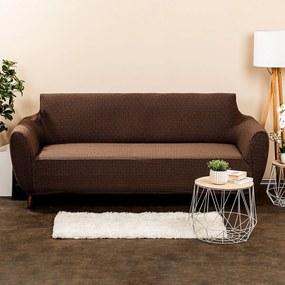 4Home Comfort Plus Multielasztikus ülőgarnitúrahuzat barna, 180 - 220 cm, 180 - 220 cm