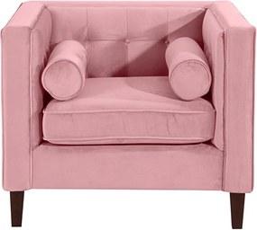 Jeronimo rózsaszín fotel - Max Winzer