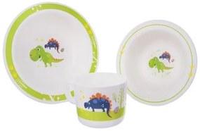 Orion Dino 3 darabos étkezési szett gyerekeknek