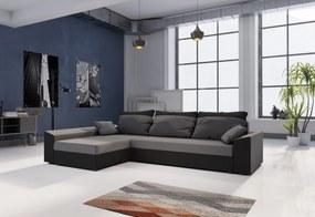 PAMELA ágyázható sarok ülőgarnitúra, 245x85x140, mikrofázis 27/15, bal
