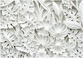 Alabaster Garden nagyméretű tapéta, 400 x 280 cm - Artgeist