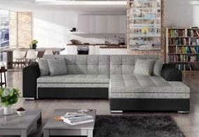 PALERMO ágyazható sarok ülőgarnitúra, 294x80x196 cm, berlin 01/soft 11, jobbos