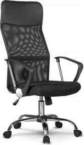Forgó irodai szék, NEMO, hálós szövet, fekete színben