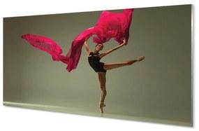 Akrilképek Balerina rózsaszín anyag 140x70 cm