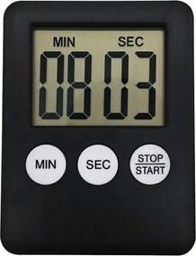 APT Digitális konyhai időzítő fekete, AG674