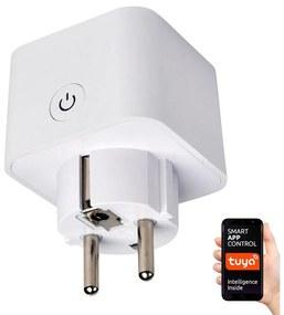 Greenlux Okos konnektor SCHUKO 3500W/230V/16A Wi-Fi Tuya GXSH027