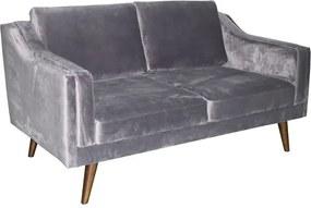 Luxus kanapé Nori - sötétszürke