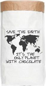 Chocolate tárolózsák újrahasznosított papírból - Really Nice Things