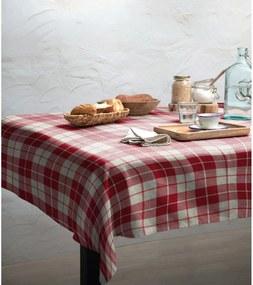 Cuadros asztalterítő, 140 x 140 cm - Linen Couture