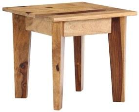 vidaXL tömör kelet-indiai rózsafa kisasztal 43 x 43 x 40 cm