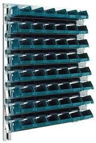 Fali állvány Unibox dobozokkal (48 db)