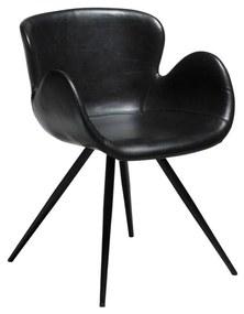 Gaia fekete műbőr szék - DAN-FORM Denmark