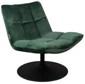 Bar zöld bársony szék - Dutchbone