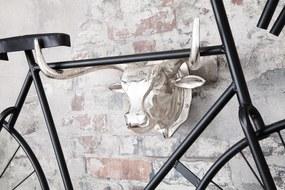 BULL ezüst biciklitartó 47cm