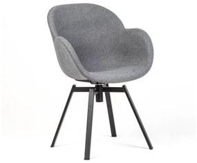 HELMOND design szék - szürke