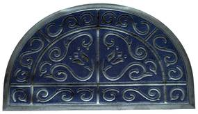 Gumi lábtörlő, félkör, 50 x 80 cm
