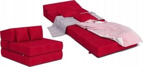 Matracesen Összehajtható fotelágy 200x70 Piros