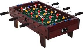 Mini asztali foci CHELSEA 70 x 37 cm - sötétbarna